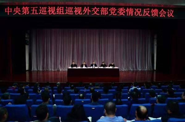 中央巡视组:外交部党委选人用人视野不宽图片
