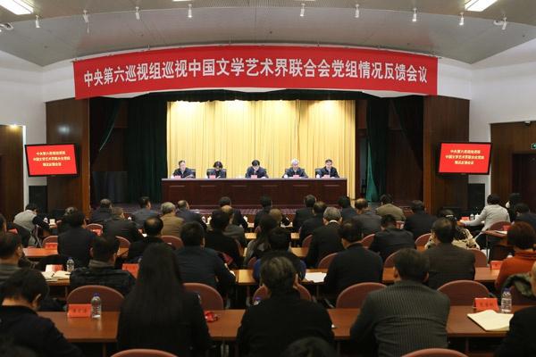 中央巡视组:中国文联党组联系文艺工作者不够广泛图片