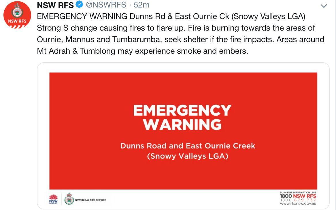 澳大利亚再迎特大火灾,中国驻澳使馆发出提醒图片