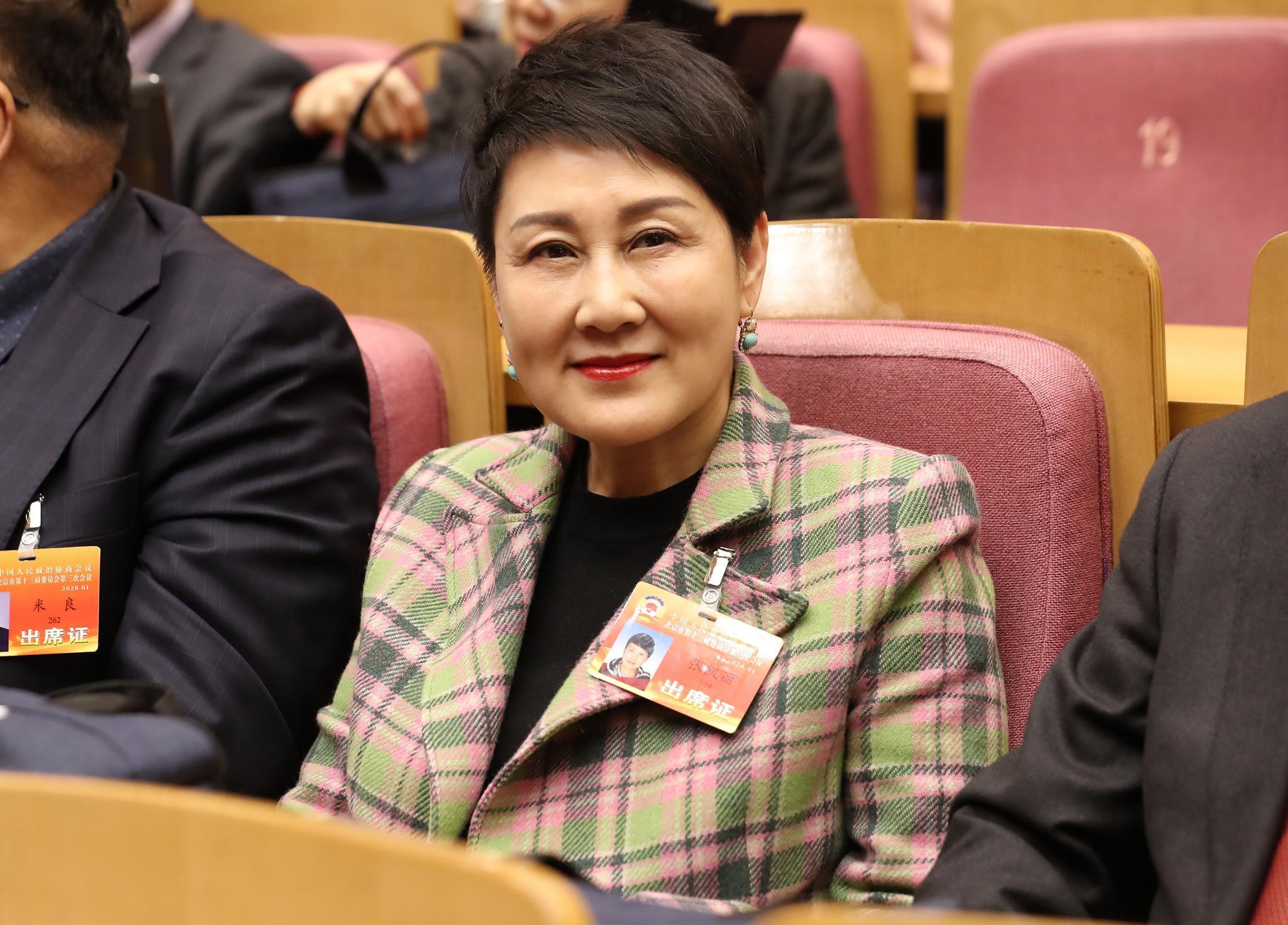 委员张凯丽:要保护尊重精品影视,不能恶搞图片