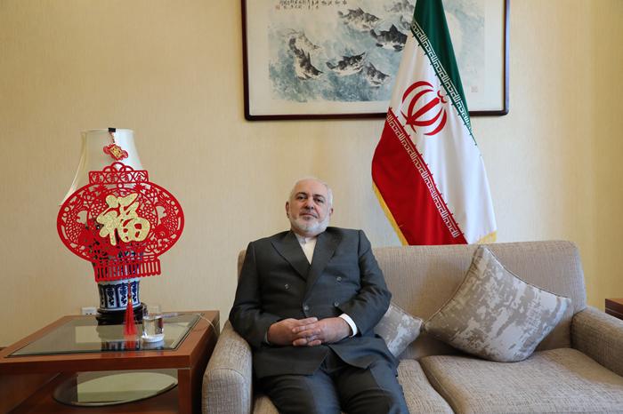 伊朗外长扎里夫:伊中关系不受外部因素干扰图片