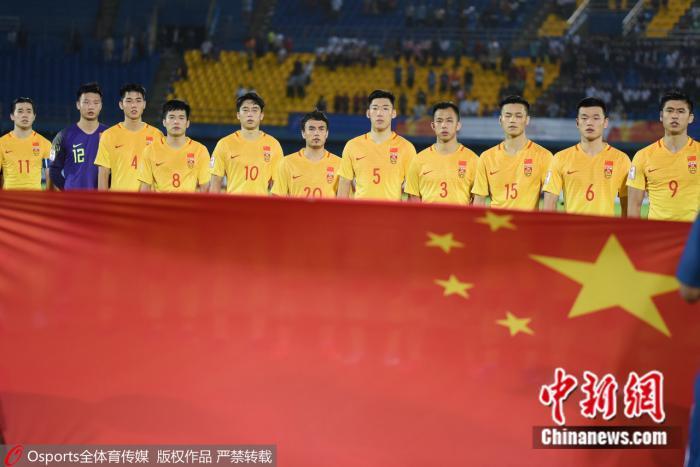 虽然0:1不敌韩国国奥,但中国国奥的比赛过程足以让人满意。 图片来源:Osports全体育图片社。