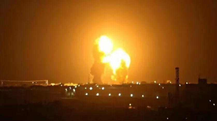▲当地时间1月7日晚间,美军基地遭伊朗导弹袭击
