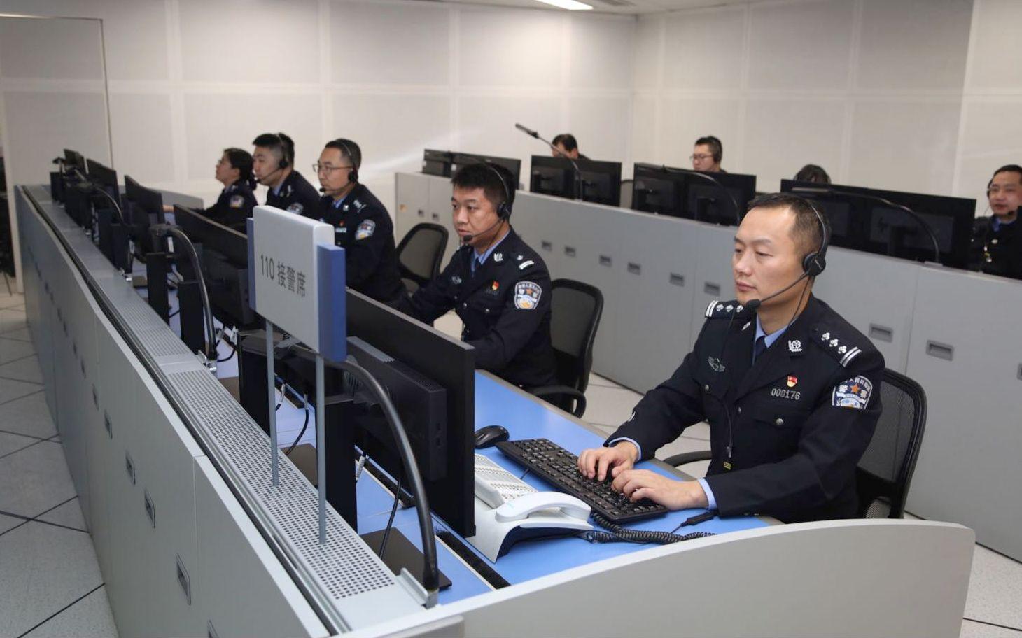 """2019年""""北京110""""最高峰1秒呼入3.5个电话图片"""
