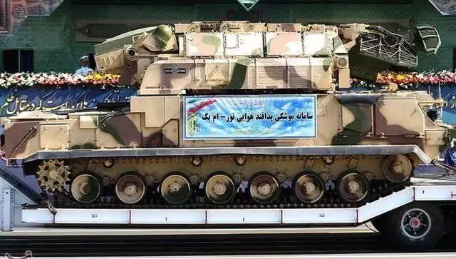 伊朗军队的道尔(Tor)M1导弹