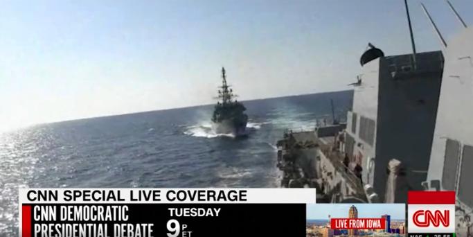 美俄军舰差点相撞 互相指责对方行为 危险图片 274846 683x342