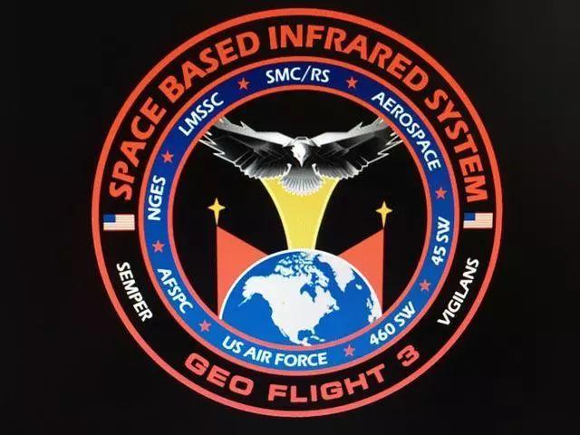 """美国空军""""天基红外系统""""任务徽章"""