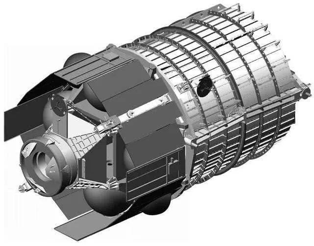 SB-WASS卫星的3D图