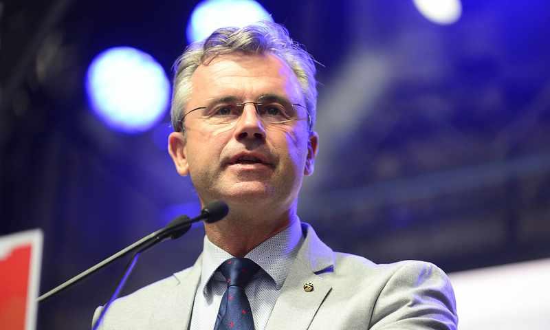 奥地利自由党主席诺贝特-霍费尔新冠病毒检测呈阳性