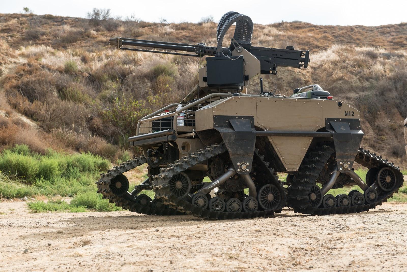 英军高官称机器人未来将占军人总数的四分之一