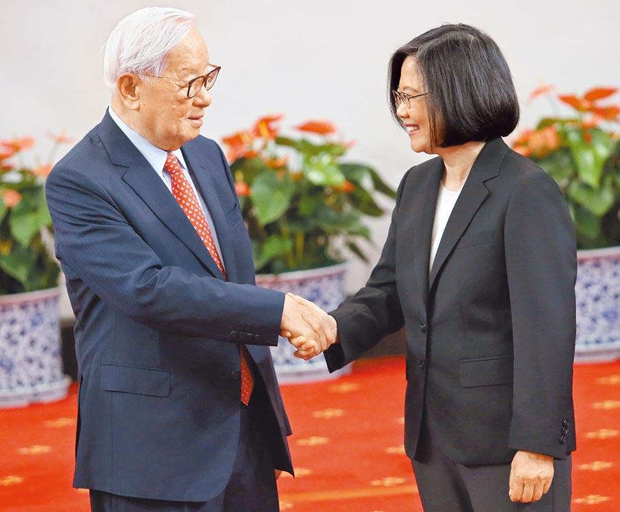 台媒:蔡英文将宣布由台积电创办人张忠谋任APEC代表图片