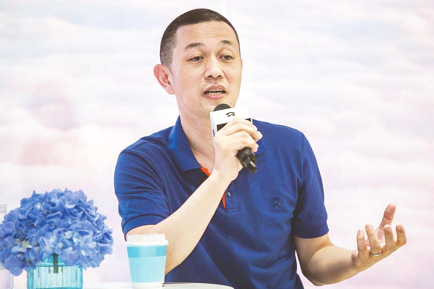 蔚来汽车董事长李斌(图片来源:企业供图)