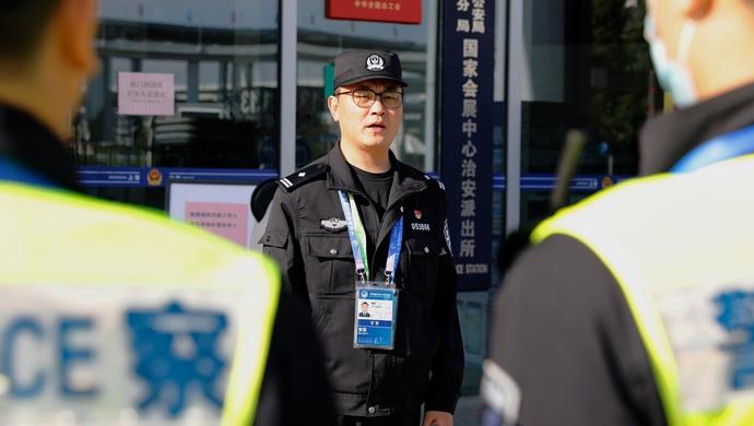 """上海唯一""""国字头""""派出所""""接棒人"""",揭秘进博会鲜为人知的""""安全密码""""图片"""