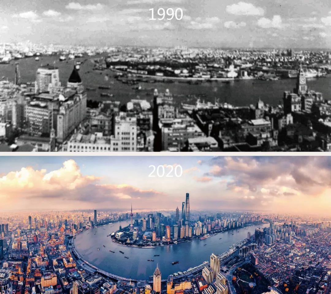 """东方明珠电视塔、金茂大厦、环球金融中心、上海中心……同济用实力""""建""""证浦东三十年图片"""