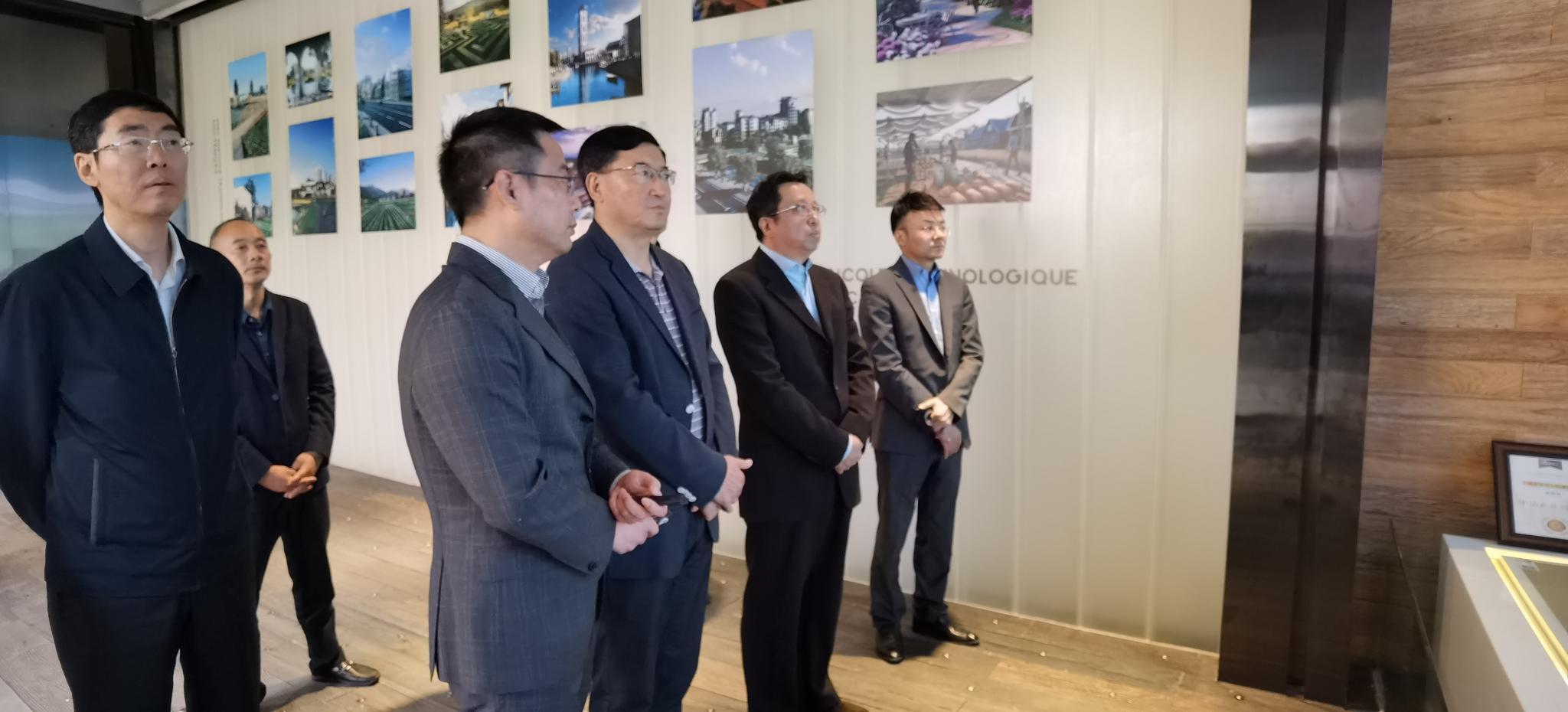 尧斯丹赴眉山市督导调研中法农业科技园项目建设图片