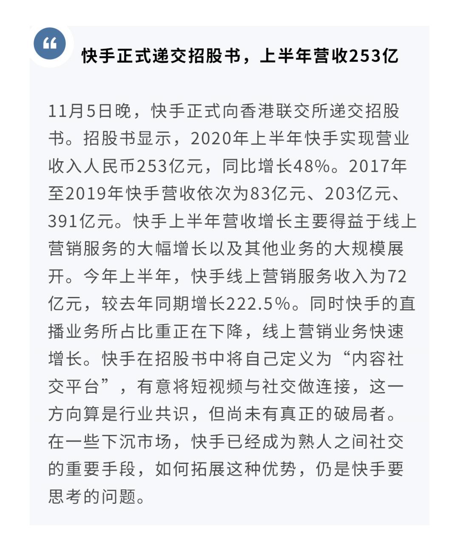 【策略】超级企业跟踪第22期—快手递交招股书,京东健康IPO