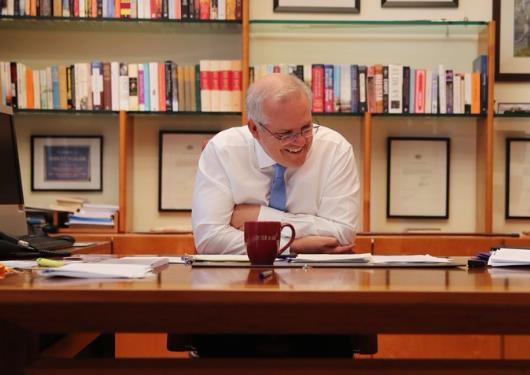 澳大利亚总理称已与拜登通话表示祝贺 强调美澳同盟