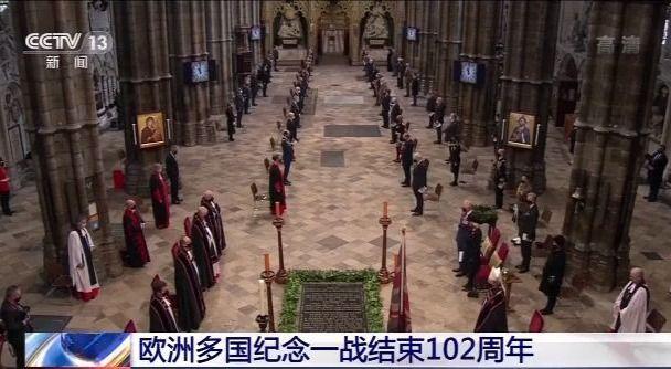 欧洲多国举行活动纪念一战结束102周年