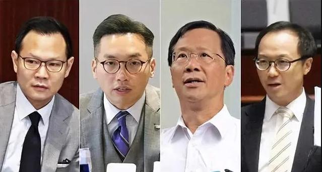 """侠客岛:""""闹辞""""?香港反对派议员别再丢人现眼了!图片"""