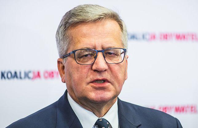 波兰前总统科莫罗夫斯基感染新冠病毒