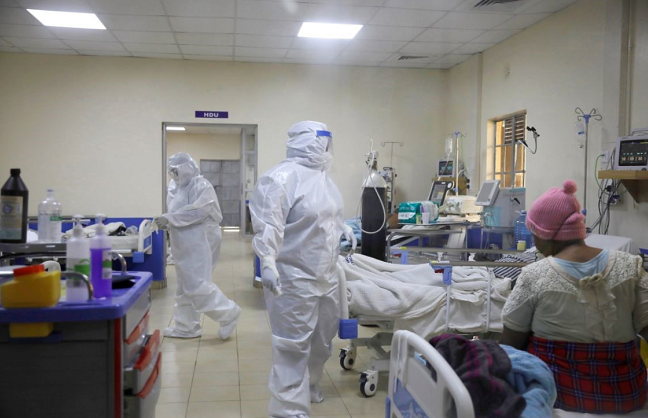 肯尼亚新增新冠肺炎确诊病例1344例 累计确诊65804例