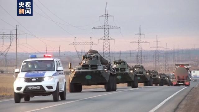 首批俄维和部队已进入纳卡地区斯捷潘纳克特
