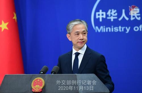 2020年11月13日外交部例行记者会(全文)图片