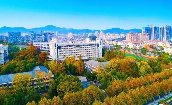 【杭州发布】杭州这所大学里的秋天太美!遍地金黄!图片