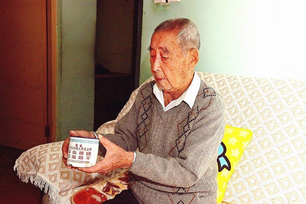 记志愿军老战士、东风紧固件有限公司离休干部范景生