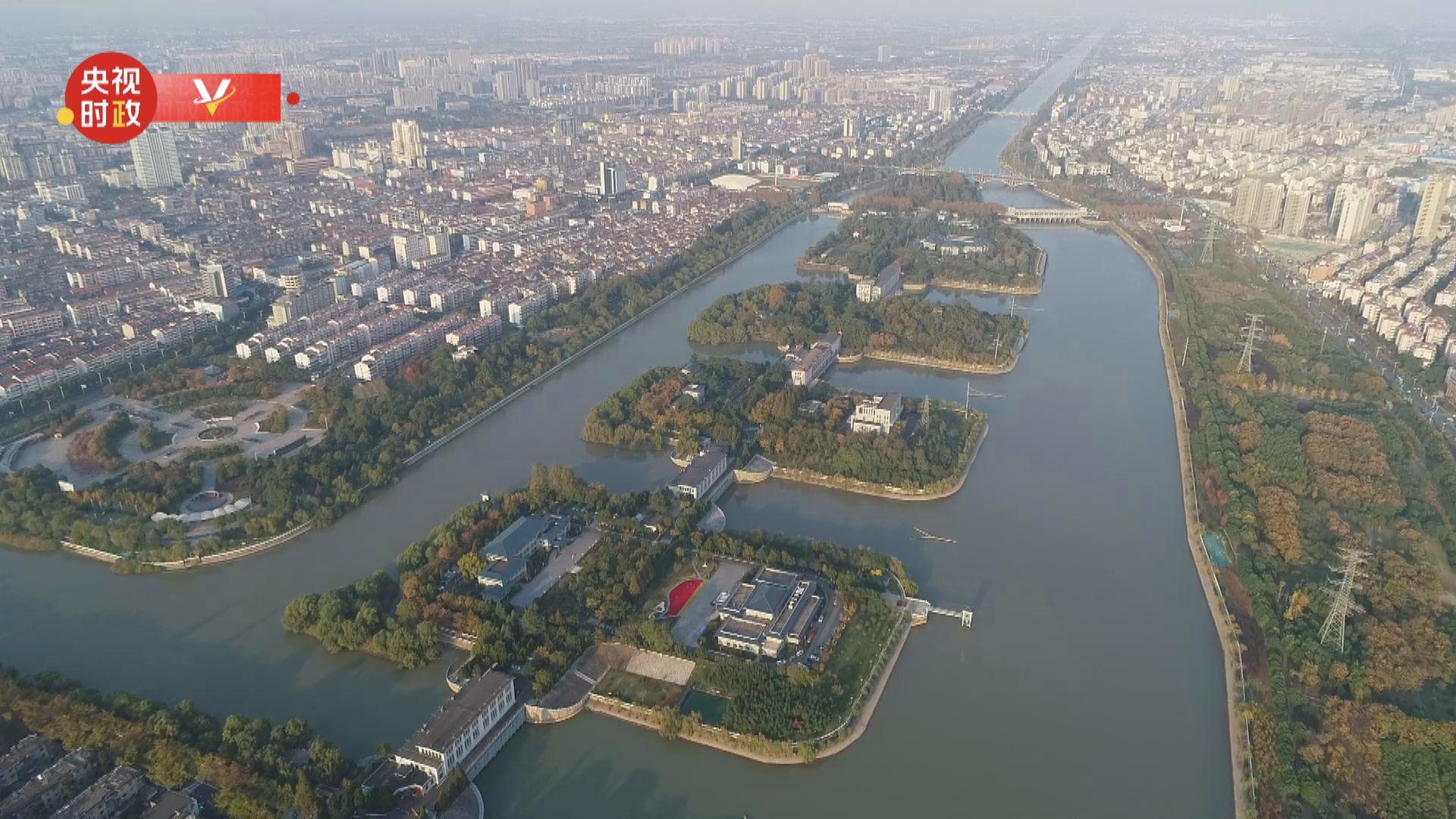 习近平江苏行丨功在当代 利在千秋——走进江都水利枢纽图片
