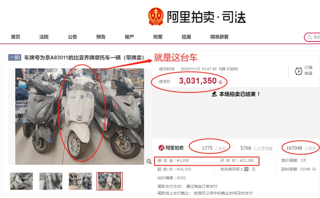 """303万""""买""""一辆又破又旧摩托车 背后的真相是?"""