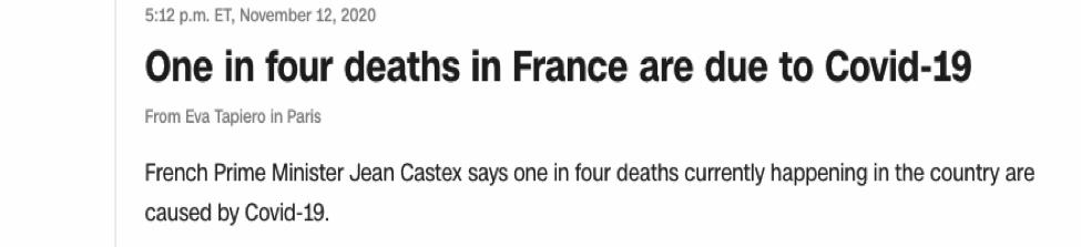 美国和欧洲各国疫情再度告急 今冬或成至暗时刻