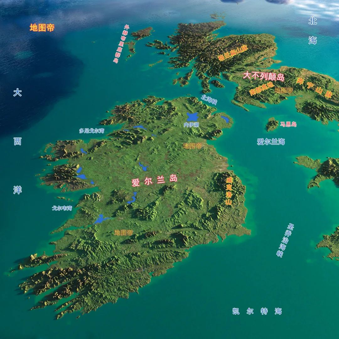 历史 | 日不落英国为何让眼皮底下的爱尔兰独立?