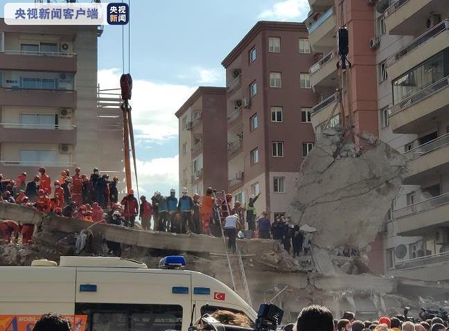 爱琴海强震后续 土耳其遇难人数升至116人