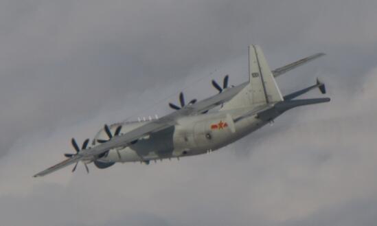 11月第12天 我军机再赴台西南空域图片