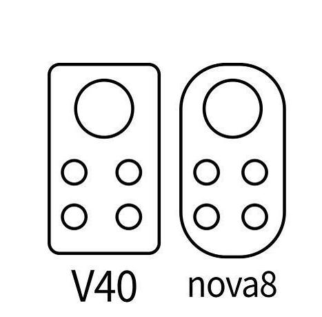 荣耀V40和华为nova8相机造型曝光:或12月发布