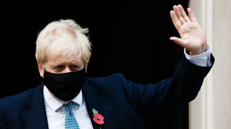 英国迎来脱欧关键周,但首相约翰逊因疫情被迫自我隔离