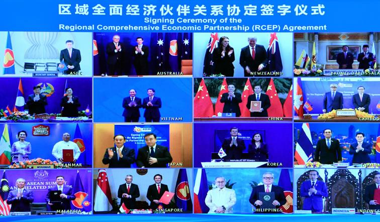 亚太15国签署世界最大贸易协议RCEP 日本维持食糖等五种商品关税