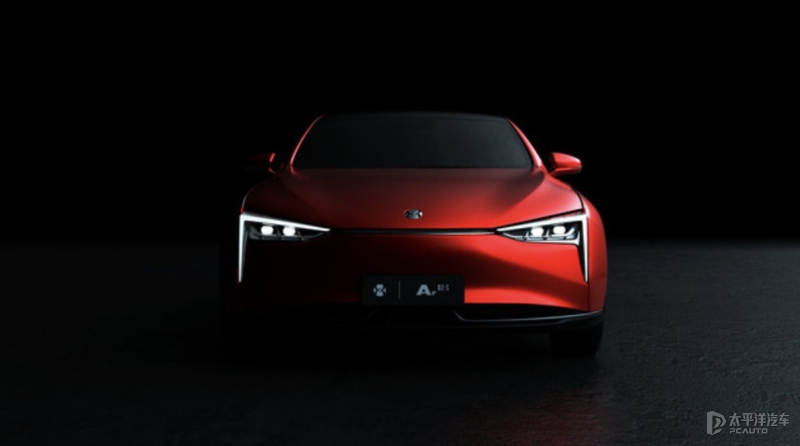 广汽蔚来全新纯电轿车Ar18曝光 或广州车展首发