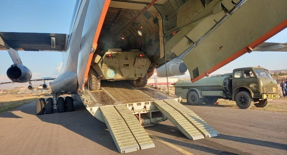 俄罗斯再次出动20架战略运输机向亚美尼亚运兵