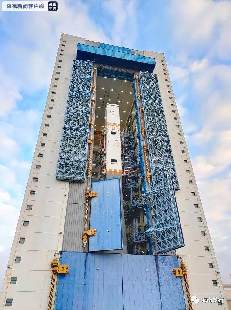 """""""长五""""送""""嫦五"""" 计划11月下旬择机在海南文昌实施发射图片"""