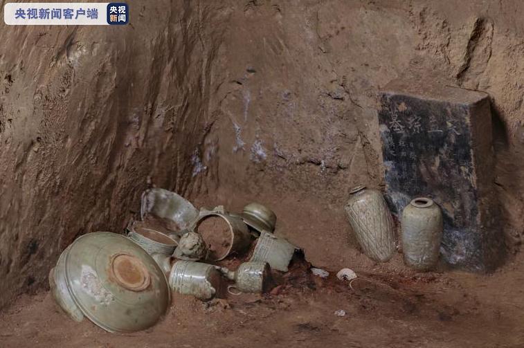 考古新发现!西安出土珍贵耀州窑青釉瓷器图片