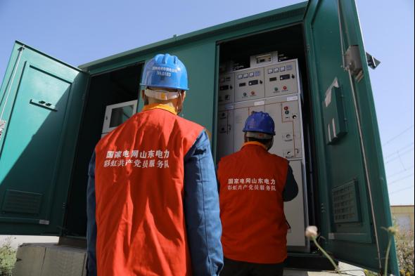 国网潍坊供电公司清洁供暖捂热老百姓心窝图片