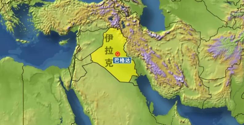 """伊拉克巴格达""""绿区""""遭4枚火箭弹袭击"""