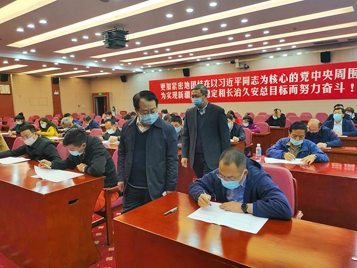 驻党委办公厅纪检监察组:以考促学 提升素质图片