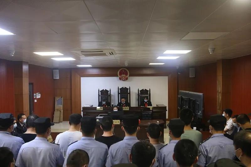 最高刑25年 广西北流一黑社会性质组织犯罪案件一审宣判图片