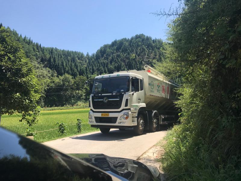 车货大送要经由好车只小一退到后T小的个让路口型道。