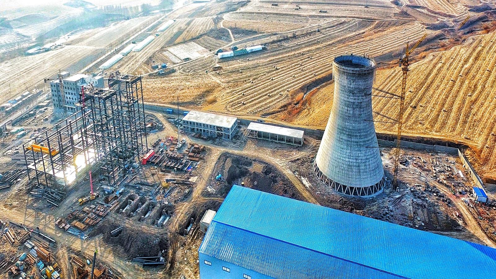 黑龙江省百大项目——东宁恒昌生物质热电联产项目建设进展迅猛
