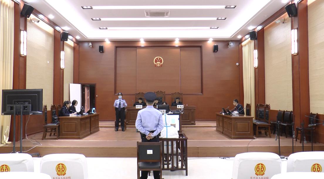 扫黑除恶┃东兴法院:开庭审理一起涉黑案件图片