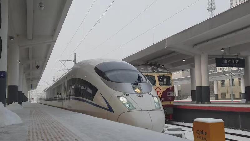 受雨雪冰冻气候影响 哈铁30列搭客列车停运(图2)